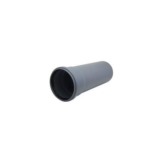 Труба канализационная инсталпласт ПП 110д, 1000мм