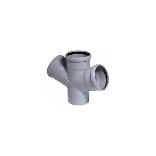 Крестовина канализационный 110х110х110-45*