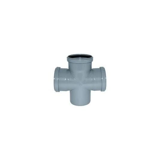 Крестовина канализационный 110х110х110-90*