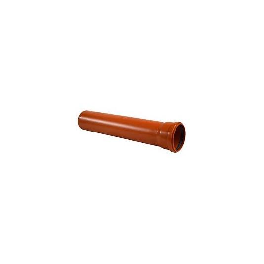 Труба канализационная инсталпласт ПВХ 110х2000мм
