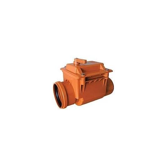 Клапан для канализации обратный д.110  Инстал пласт