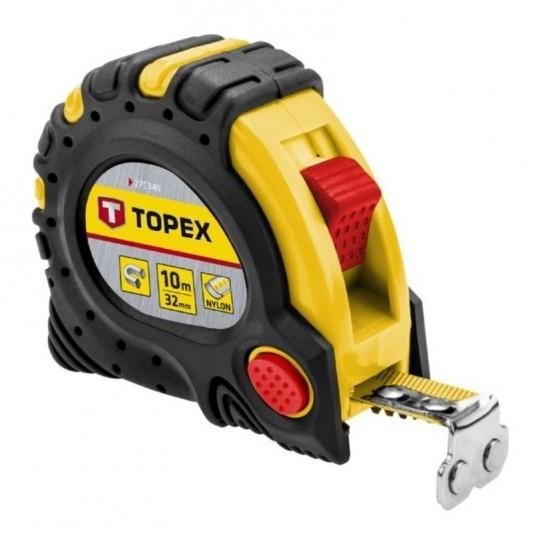 Рулетка TOPEX 10м х 32 мм