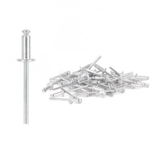 Заклёпка алюминиевая (4 х 10 мм) INTERTOOL