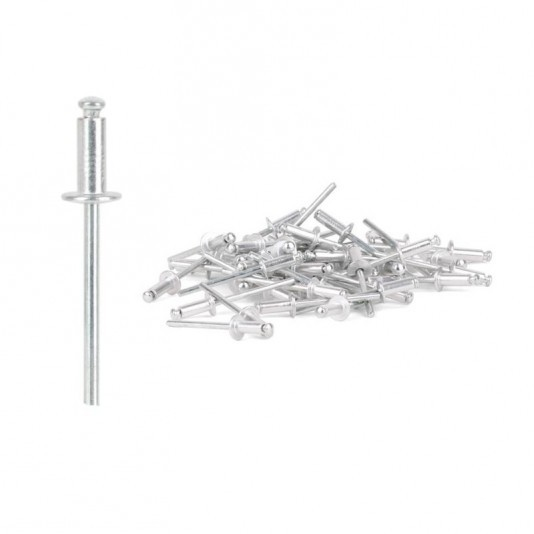 Заклёпка алюминиевая (4 х 12 мм) INTERTOOL