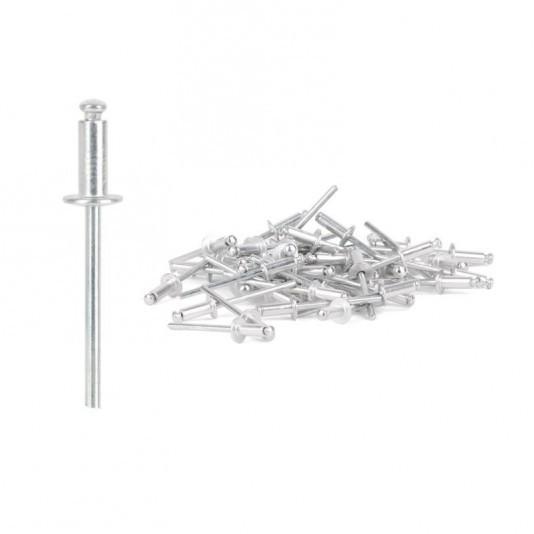 Заклёпка алюминиевая (4 х 16 мм) INTERTOOL