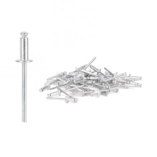 Заклёпка алюминиевая (4 х 18 мм) INTERTOOL