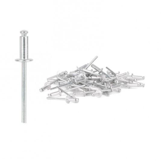 Заклёпка алюминиевая (4 х 8 мм) INTERTOOL
