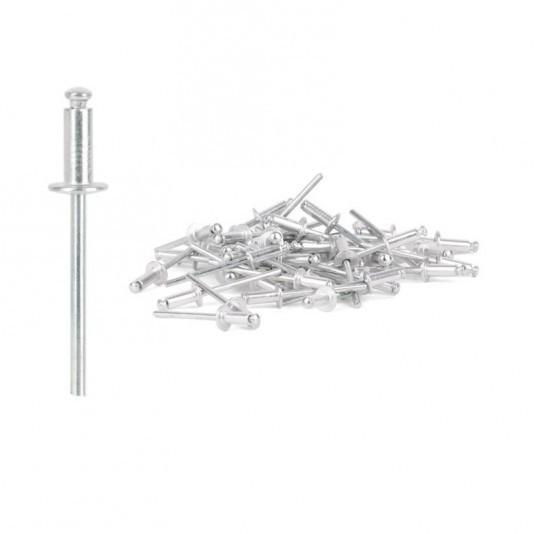 Заклёпка алюминиевая (4,8 х 14 мм) INTERTOOL
