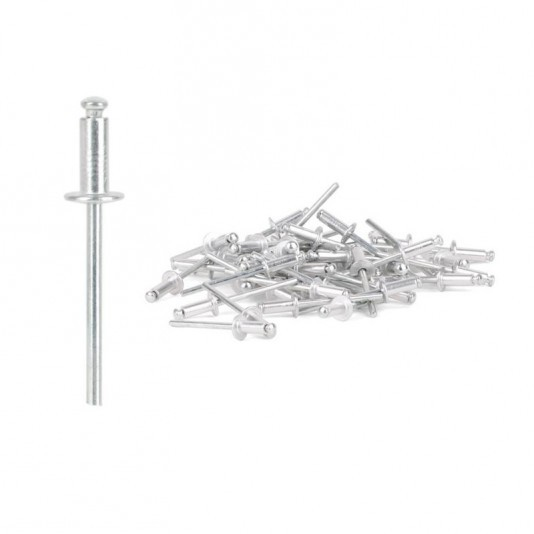 Заклёпка алюминиевая (4,8 х 18 мм) INTERTOOL