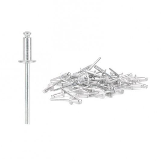 Заклёпка алюминиевая (4,8 х 22 мм) INTERTOOL
