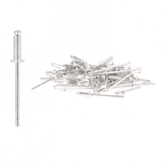 Заклёпка алюминиевая (3,2 х 10 мм) INTERТООL