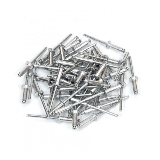 Заклёпка алюминиевая (3,2 х 10 мм) POLAX