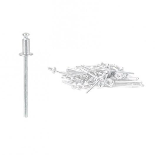 Заклёпка алюминиевая (3,2 х 8 мм) INTERTOOL