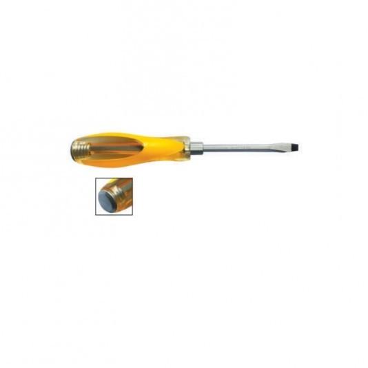 Отвертка Kubis SL5*100мм ударная шлицевая