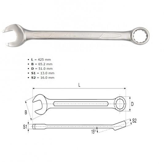 Ключ комбинированный 34 мм YATO