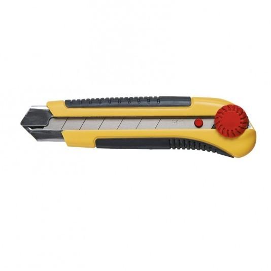 Нож с выдвижным лезвием TOPEX 25мм