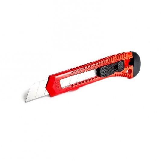 Нож с выдвижным лезвием 18 мм INTERTOOL