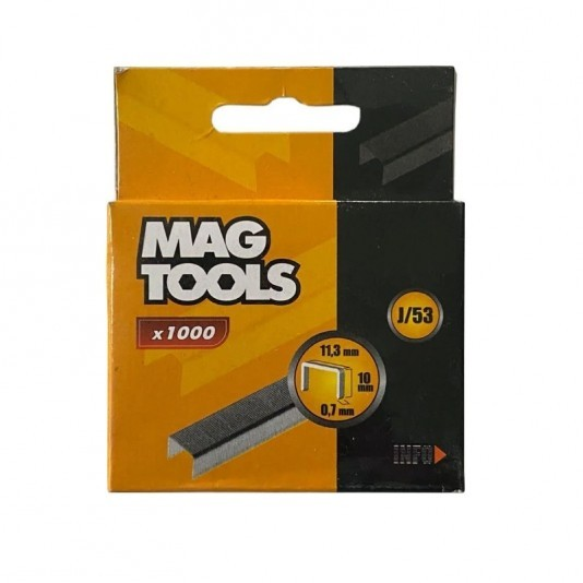 Скобы для степлера Magtools 6 мм