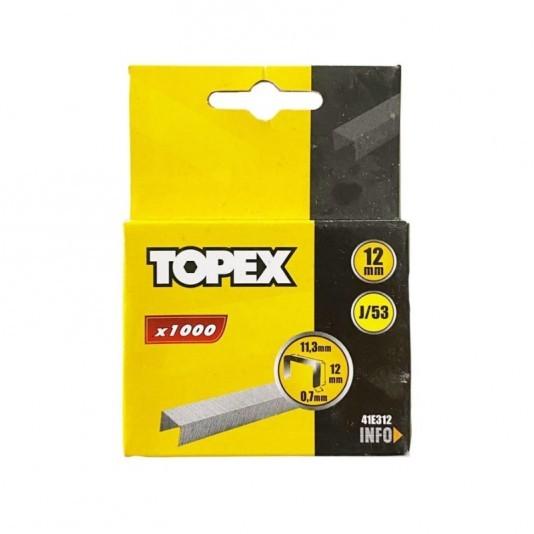 Скобы для степлера TOPEX 12 мм