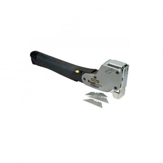 Степлер молотковый для скоб Stanley FatMax Xtreme с ножом с выдвижным лезвием