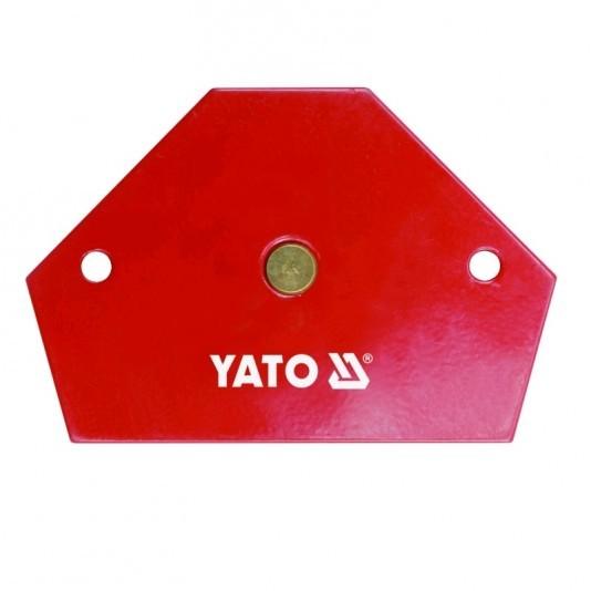 Струбцина магнитная YATO 64х95х14 11,5 кг
