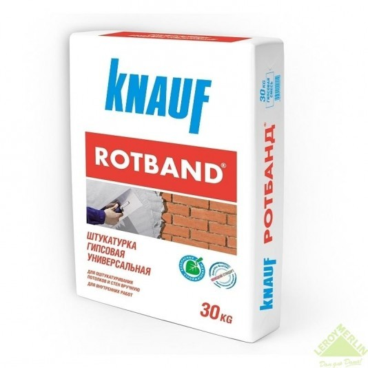 """Гипсовая штукатурка стартовая """"Rotband"""", Knauf"""