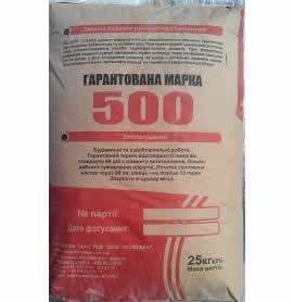 """Цемент ПЦ-IІ-А-500""""Кривой Рог"""""""