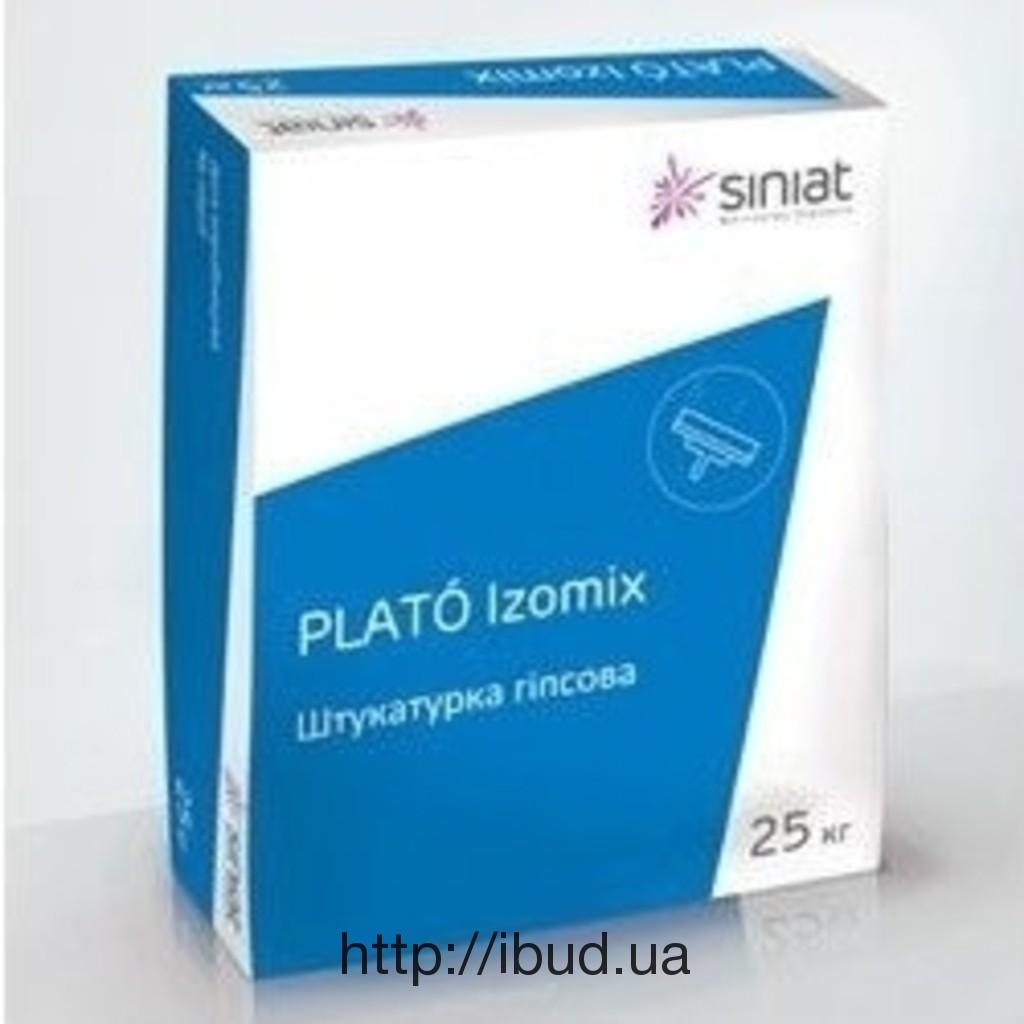 Гипсовая штукатурка стартовая Izomix, Plato