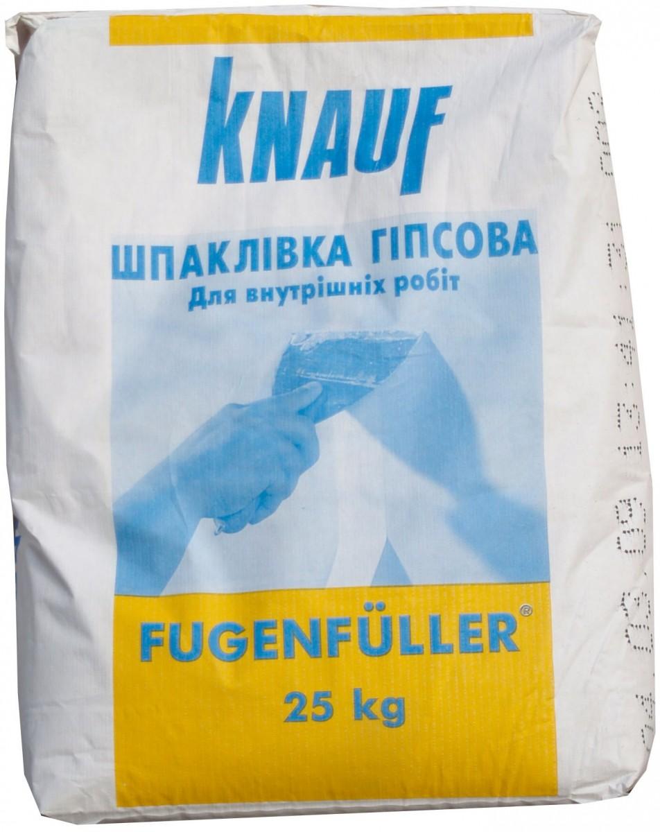 """Гипсовая штукатурка универсальная """"Fugenfuller"""", Knauf"""