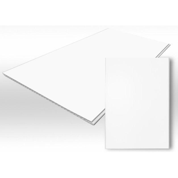 Вагонка ПВХ безшовная белая 250х10х6м